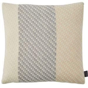 Ecru Cream Wool Cushion by Claire Gaudion