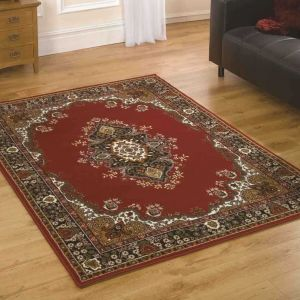 Element Prime Lancaster Red Rug by Flair Rugs