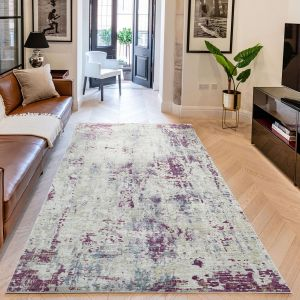 Essence ESSC05 Multicolour Abstract Rug by Concept Looms
