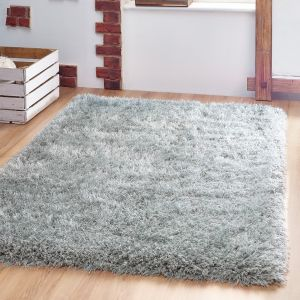 Extravagance Steel Shaggy Rug by Origins