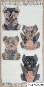 Fantasia Bear Wool Rug by Oriental Weavers