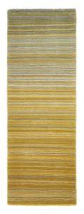 Fine Stripes Ochre Wool Runner by Origins
