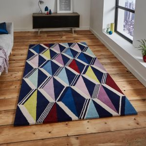 Fiona Howard Zig Zag FH05 Designer Wool Rug By Think Rugs 1