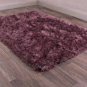 Flossy Heather Shaggy Rug by Ultimate Rug