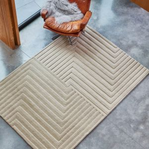 Form Natural Wool Rug by Asiatic