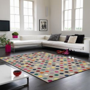 Funk Spotty Multi Rug By Asiatic1