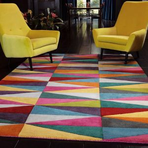 Funk Triangles Multi Rug By Asiatic 1