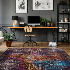 Galaxy 400 Multi Brown Rug by Arte Espina
