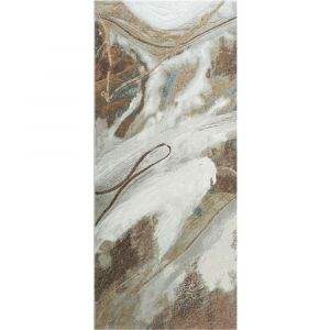 Galleria 063-05297270 Contemporary Beige Abstract Runner by Mastercraft