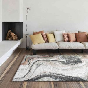 Galleria 063-06187270 Green Contemporary Abstract Rug by Mastercraft