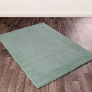 Garrison Teal Wool Rug by Ultimate Rug
