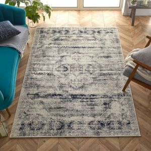 Gilbert 2061 N Grey Cream Traditional Rug by Oriental Weavers