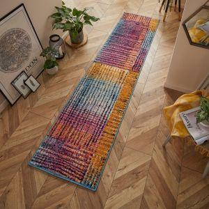Gilbert 45 P Multi Abstract Runner by Oriental Weavers