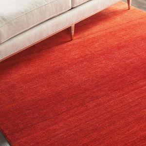 GLO01 Linear Glow Sumac Wool Rug by Calvin Klein