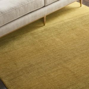 GLO01 Linear Glow Verbena Wool Rug by Calvin Klein