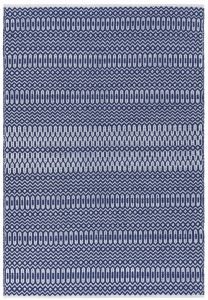 Halsey Blue Geometric Rug by Asiatic