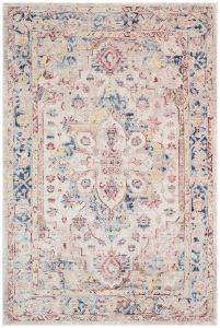 Heritage HRTG101 Ivory Multi Traditional Rug by Concept Looms