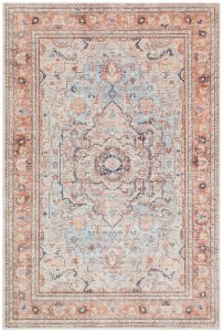 Heritage HRTG104 Sky Terra Traditional Rug by Concept Looms