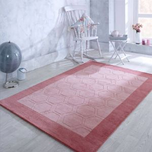 Hex Pink Hand Tufted Rug by Oriental Weavers