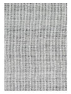 Ida Grey Chequered Rug by Claire Gaudion
