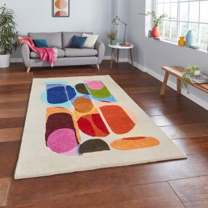 Inaluxe Drift IX13 Designer Wool Rug by Think Rugs