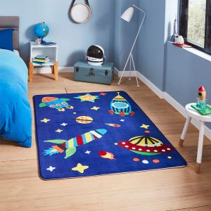 Inspire G3420 Blue Kids Rug by Think Rugs