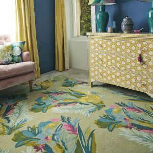 Jungle 18307 Hand Tufted Wool Rug by Bluebellgray