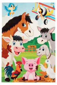 Juno JUN 472 Farm Kids Rug by Obsession