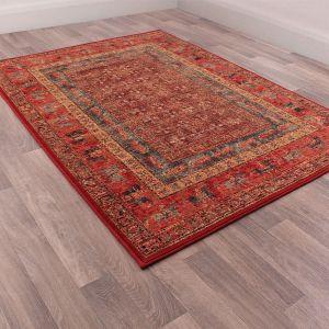 Keshan Supreme Pazyryk Wool Rug by HMC