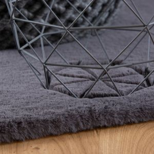 Lambada LAM 835 Graphite Shaggy Rug by Obsession