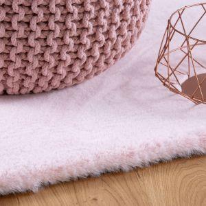 Lambada LAM 835 Powder Pink Shaggy Rug by Obsession