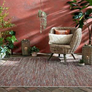 Larino Sunset Terracotta Rug by Flair Rugs