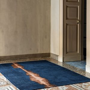 Linares 9056 Navy Designer Rug by Christian Fischbacher