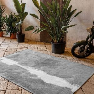 Linares 9057 Sand Designer Rug by Christian Fischbacher