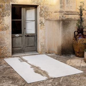 Linares 9058 White Designer Rug by Christian Fischbacher