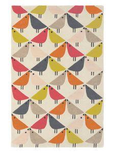 Lintu 24402 Rhubarb Hand Tufted Wool Rug by Scion