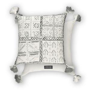 Loseta Charcoal WYC00162X Cushion by William Yeoward
