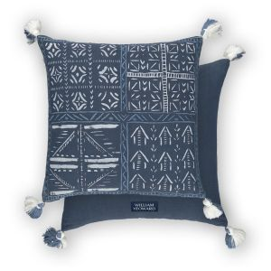 Loseta Indigo WYC00163X Cushion by William Yeoward