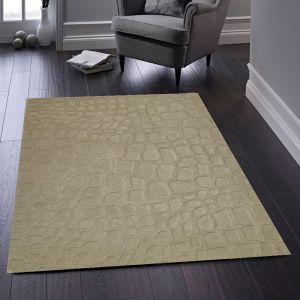 Marbles Taupe Luxury Wool Rug by Origins