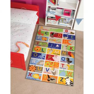 Matrix Kiddy ABC Mat by Flair Rugs