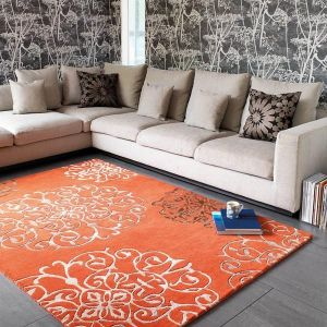 Matrix Tangier MAX43 Tangier Terracotta Traditional Wool Rug by Asiatic