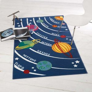 Matrix Kiddy Planets Rug By Flair Rugs