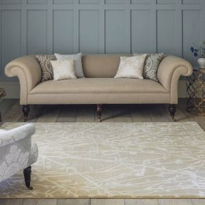Meadow 46809 Linen Hand Tufted Wool Rug by Sanderson