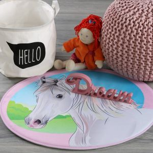 Mila MIK 141 Horse Kids Rug by Obsession
