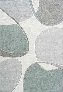 Milano 046-0004/6141 Green Abstract Rug by Mastercraft