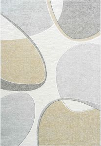 Milano 046-0004/6191 Gold Abstract Rug by Mastercraft