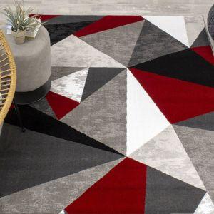 Moma Multi Geometric Rug by Floorita
