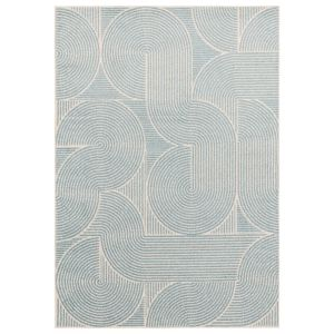 Muse MU02 Sky Abstract Rug by Asiatic