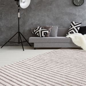 Natura 210 Natural/Cream Wool Rug by Kayoom