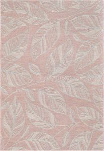 Newquay 096-0014 8002 96 Coral Flatwoven Rug by Mastercraft